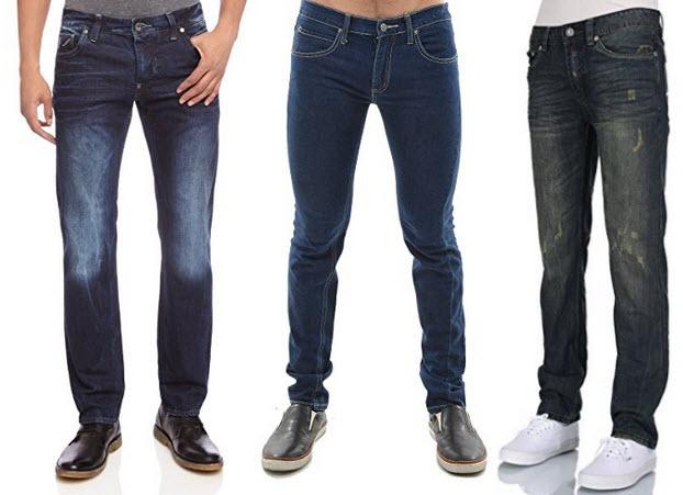 Mens Low Rise Jeans - 2