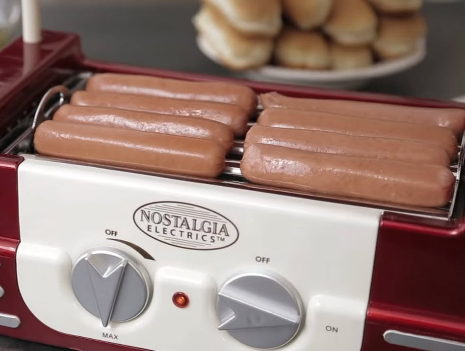 Mini Hot Dog Roller - b