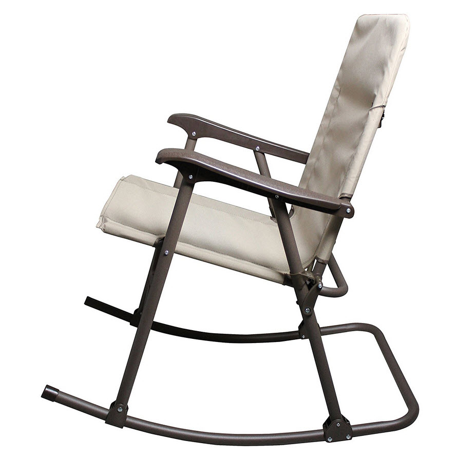 Collapsible Portable Rocking Chair - b