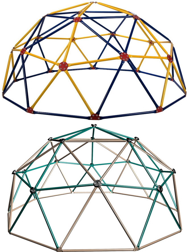 Geodesic Dome Jungle Gym - b