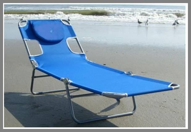 Lightweight Beach Loungers