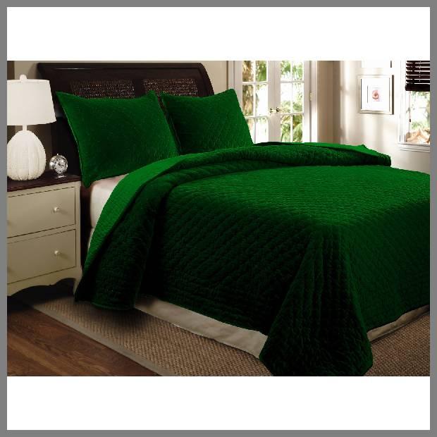 Emerald Green Bedspread