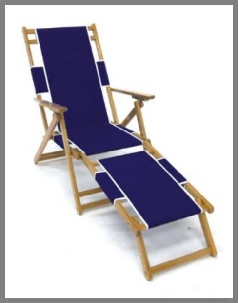 Folding Beach Chaise