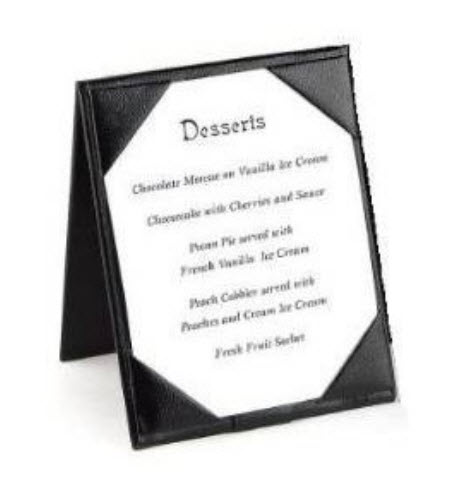 Leather Table Tents