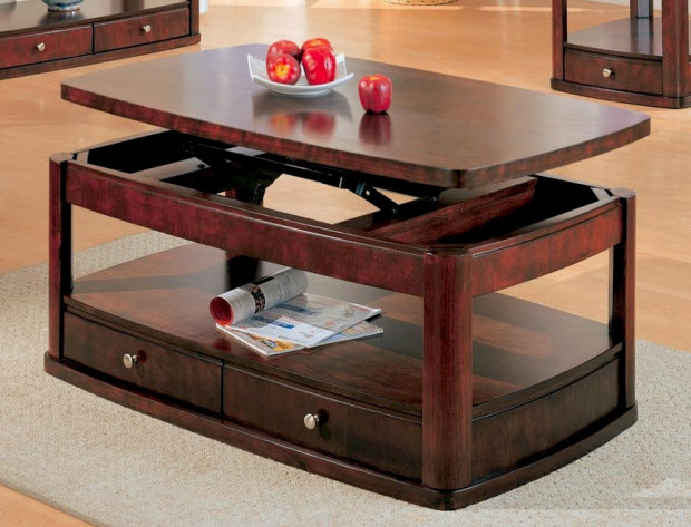 Coffee Tables that Raise Up-2