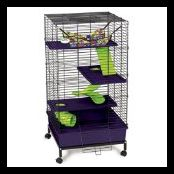 Guinea Pig Cage On Wheels picture-1