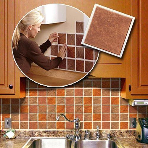 Removable kitchen backsplash - 2