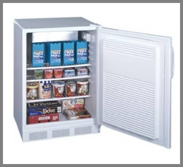 Frost free compact freezer image