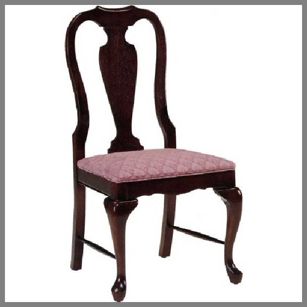 Queen Anne dining room chairs image