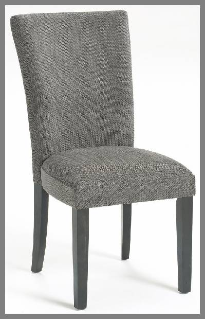 Upholstered parsons dining chairs image