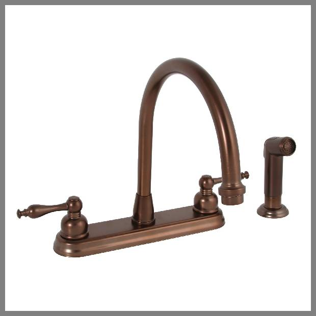 oil rubbed bronze kitchen sink faucet