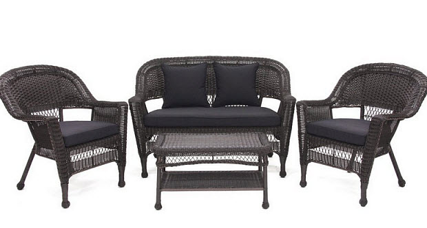 Black Wicker Outdoor Furniture