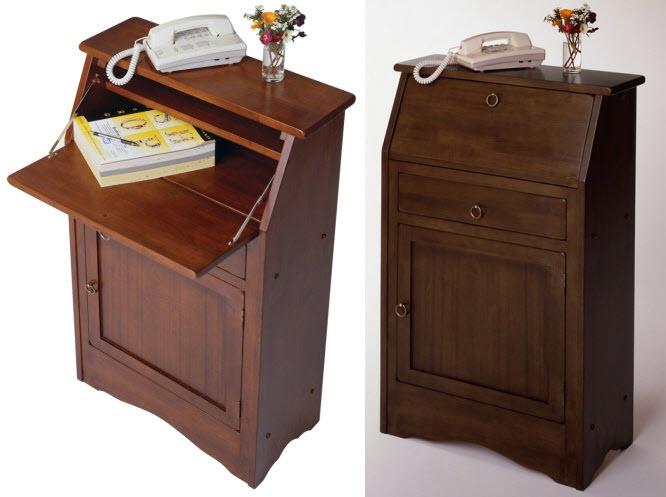 Secretary desks for small spaces