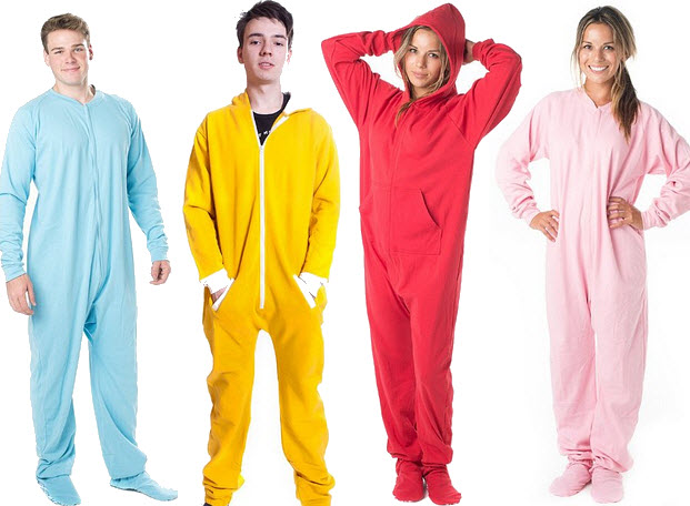 Cotton onesies for adults