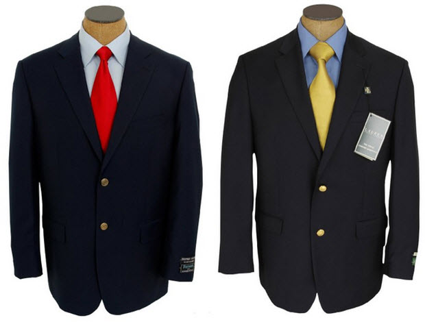 Formal blazers for men