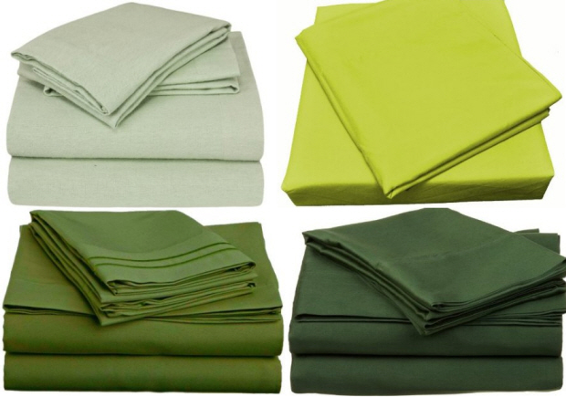 Green king size sheets