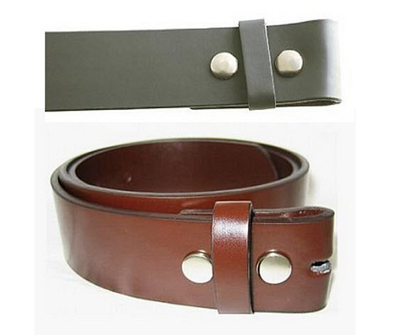 Mens leather belts without buckles