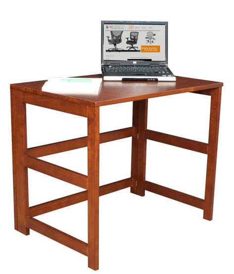 Folding home office computer desk