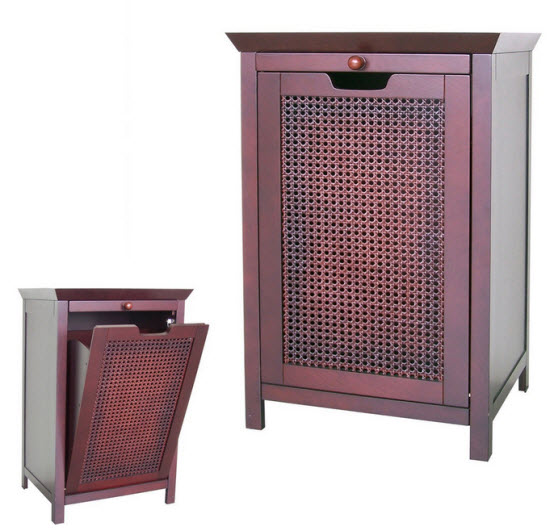 Laundry hamper furniture