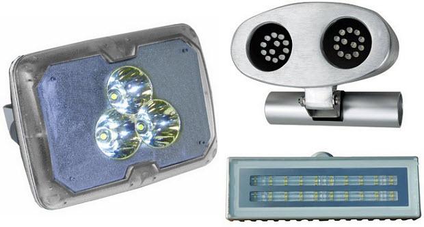 Marine LED spreader lights
