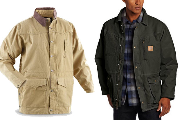 Mens ranch coat