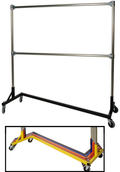 Heavy duty commercial garment racks
