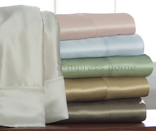 Pure silk bedding