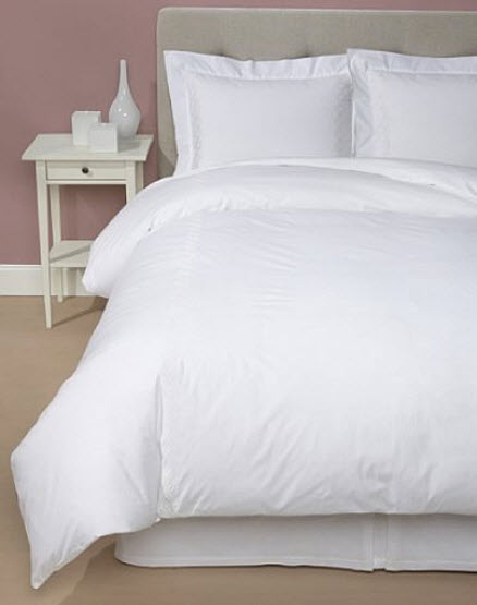 White king size duvet cover
