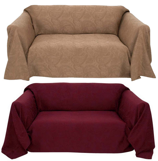 Couch cover throws