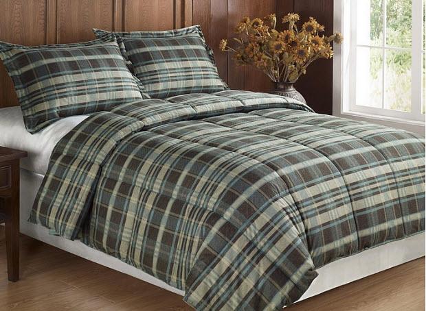Plaid Flannel Comforter Whereibuyit Com