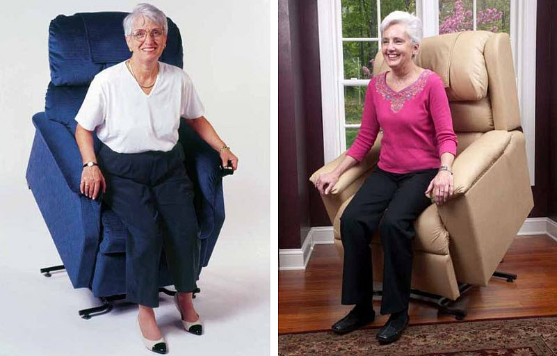 Electric recliner lift chairs