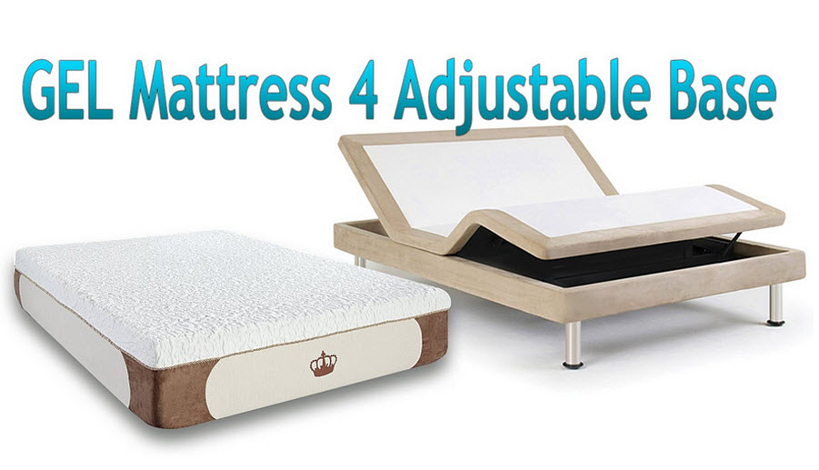 Adjustable memory foam bed