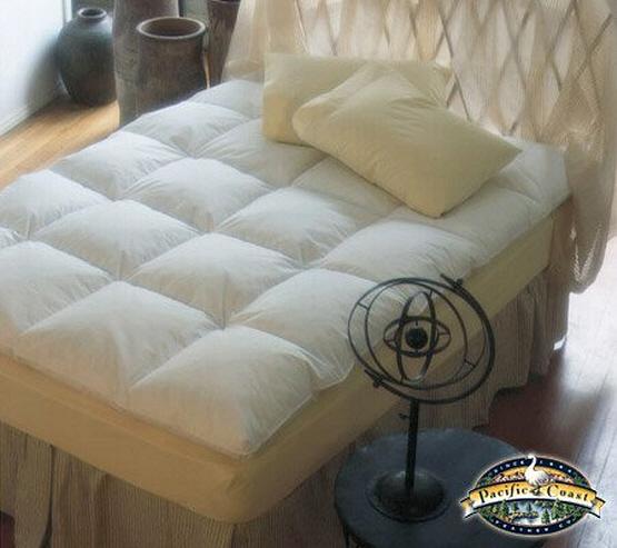 Baffle box mattress pad