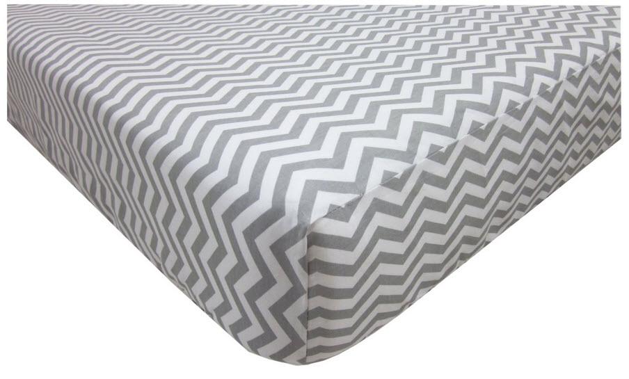 Grey chevron sheets