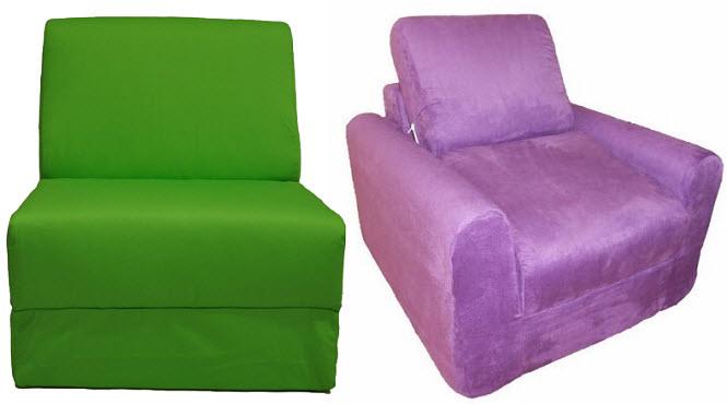 Kids chair beds