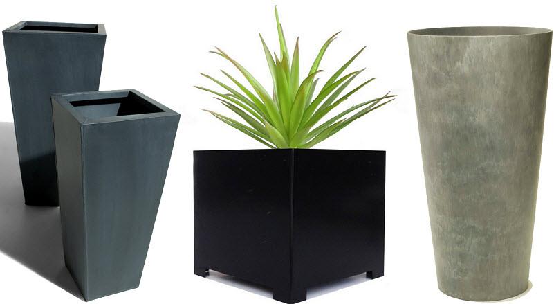 Designer garden planters
