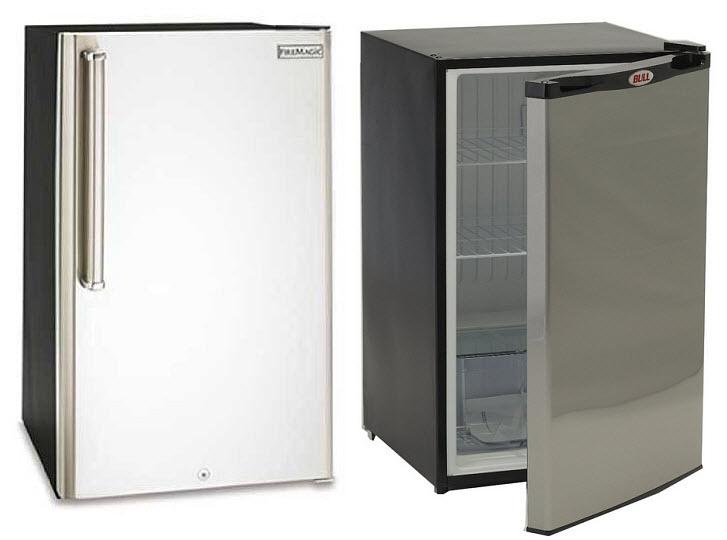 Patio refrigerators