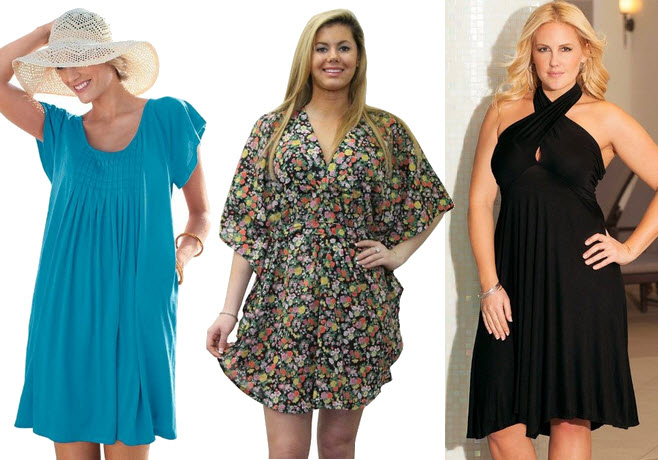 Womens plus size beach dresses