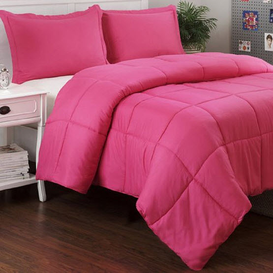 hot pink queen size comforter
