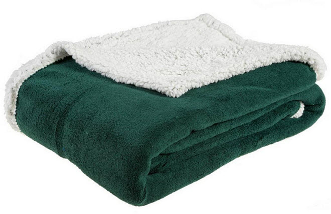 hunter green blanket