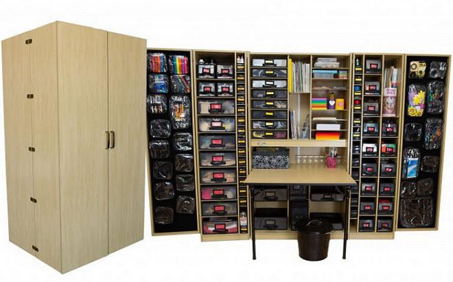 Craft storage furniture