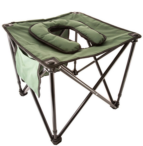 portable camping toilet seat
